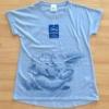ベルメゾンで購入したダンボ&ジャンボの「チュニックTシャツ」手書き風の柔らか